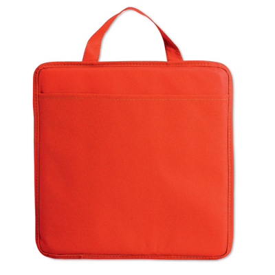 Picture of NON WOVEN STADIUM SEAT CUSHION with Pocket in Red