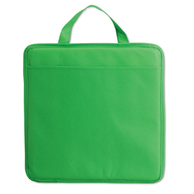 Picture of NON WOVEN STADIUM SEAT CUSHION with Pocket in Green