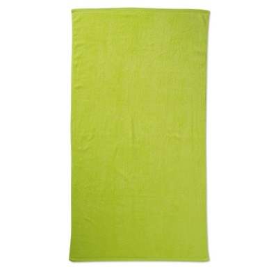 Picture of BEACH TOWEL in Lime Green
