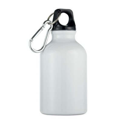 Picture of ALUMINIUM METAL FLASK BOTTLE in White