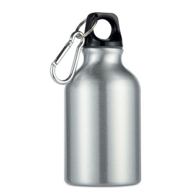 Picture of ALUMINIUM METAL FLASK BOTTLE in Silver