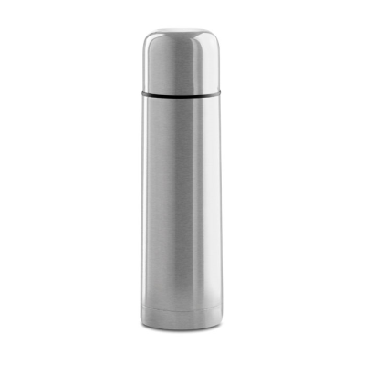 Picture of STAINLESS STEEL METAL THERMAL INSULATED INSULATING VACUUM FLASK in Matt Silver