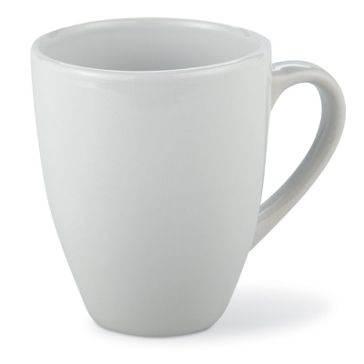 Picture of STONEWARE CERAMIC POTTERY MUG in White