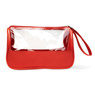 Picture of TOILETRY BAG MICROFIBRE W PVC
