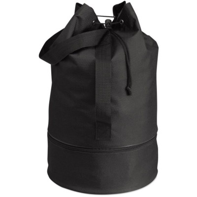 Picture of DUFFLE DRAWSTRING BAG in Black
