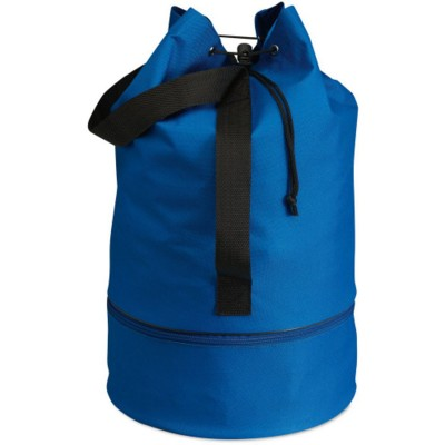 Picture of DUFFLE DRAWSTRING BAG in Royal Blue
