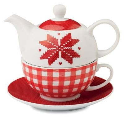 Picture of TEA POT NORDIC PATTERN