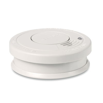 Picture of SMOKE DETECTOR in Plastic Casing with Red Operating Light