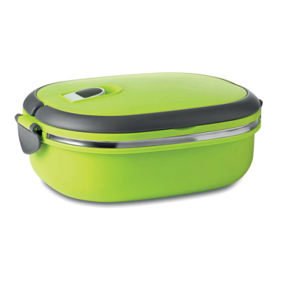 Picture of LUNCH BOX with Air Tight Lid Made of Pp Out Side & Stainless Steel Metal Inside