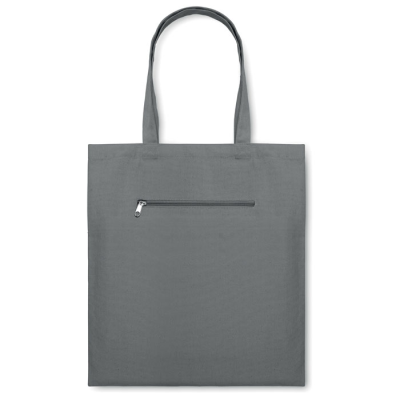 Picture of MOURA CANVAS SHOPPER TOTE BAG in Grey