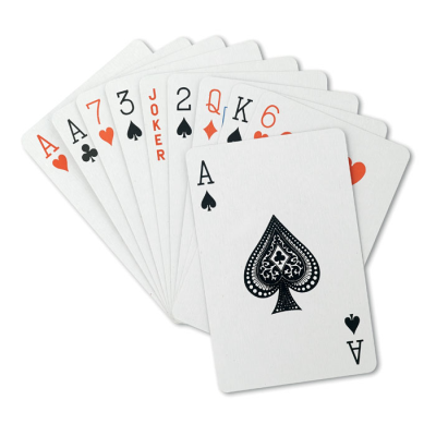 Picture of ARUBA CLASSIC PLAYING CARD PACK in Red Plastic Box