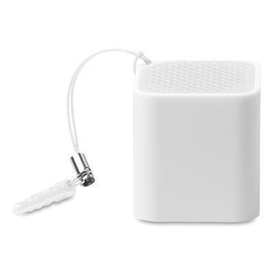Picture of KLEINE SOUND BLUETOOTH SPEAKER in White Abs