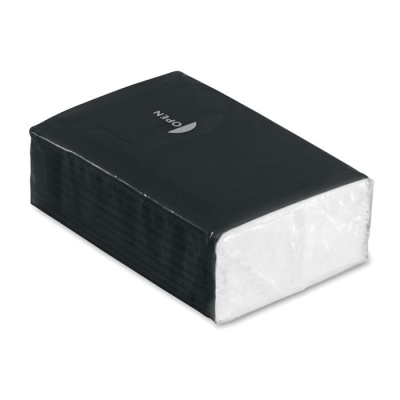 Picture of MINI TISSUE PACK 10X3 PLY in Black