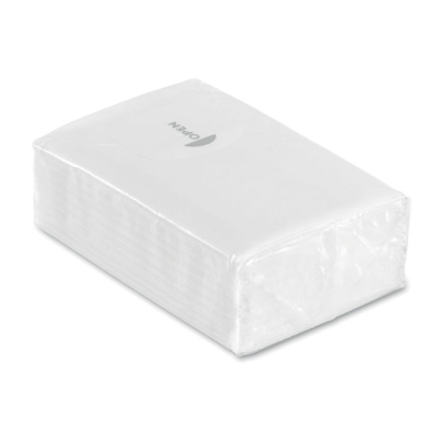 Picture of MINI TISSUE PACK 10X3 PLY in White
