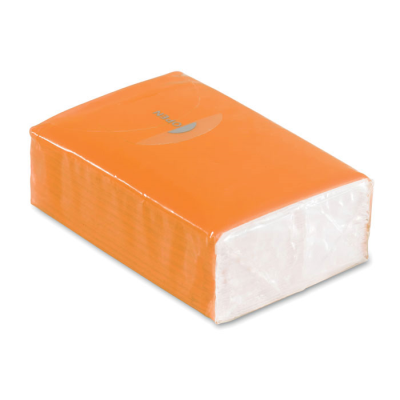 Picture of MINI TISSUE PACK 10X3 PLY in Orange