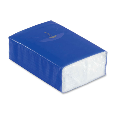 Picture of MINI TISSUE PACK 10X3 PLY in Royal Blue