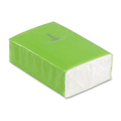Picture of MINI TISSUE PACK 10X3 PLY in Lime