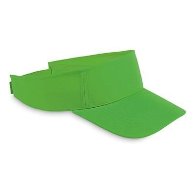 Picture of POLYESTER VISOR in Green