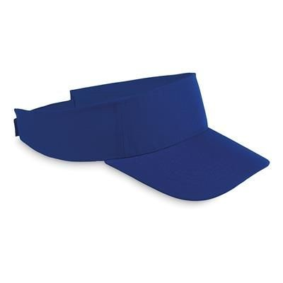 Picture of POLYESTER VISOR in Royal Blue