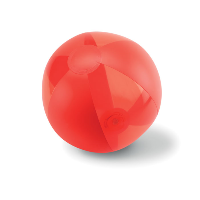 Picture of INFLATABLE BEACHBALL in Red