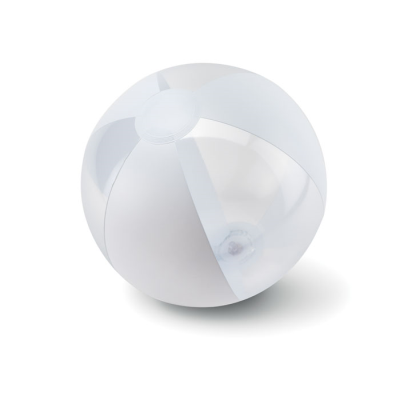 Picture of INFLATABLE BEACHBALL in White