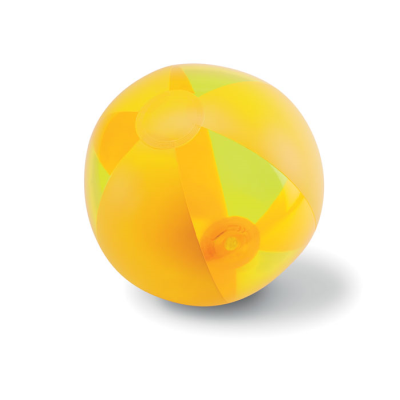 Picture of INFLATABLE BEACHBALL in Yellow