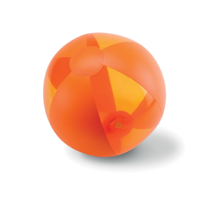 Picture of INFLATABLE BEACHBALL in Orange