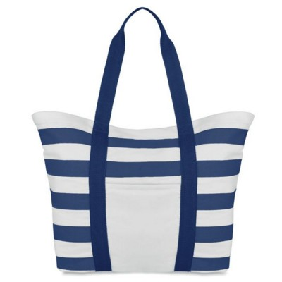 Picture of COTTON BEACH BAG in Blue