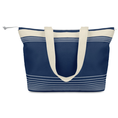 Picture of BEACH BAG COMBI 600D & CANVAS