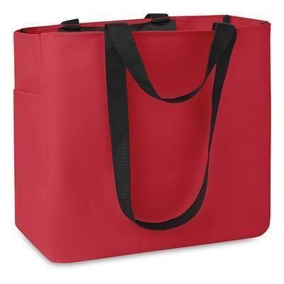 Picture of SHOPPER TOTE BAG in Red
