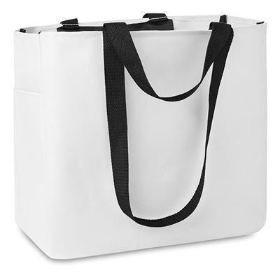 Picture of SHOPPER TOTE BAG in White
