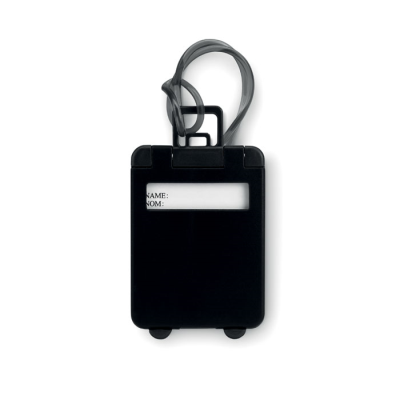Picture of TROLLEY SHAPE LUGGAGE TAG in Black