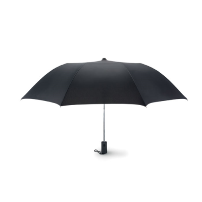 Picture of 21 INCH AUTO OPEN 2 FOLDING UMBRELLA in Black