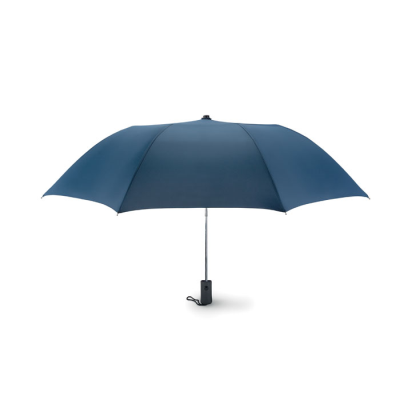 Picture of 21 INCH AUTO OPEN 2 FOLDING UMBRELLA in Blue