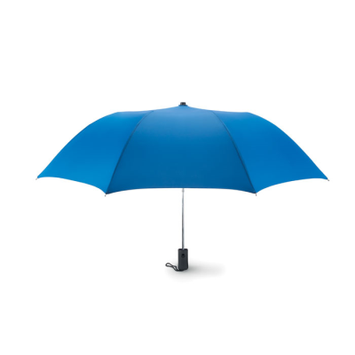 Picture of 21 INCH AUTO OPEN 2 FOLDING UMBRELLA in Royal Blue