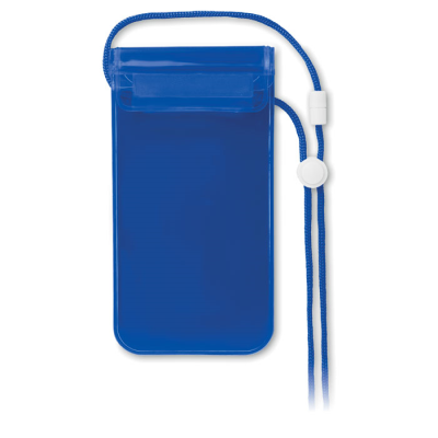 Picture of MOBILE WATERPROOF POUCH in Clear Transparent Blue