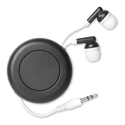 Picture of EXTRACTABLE EARPHONES in Black