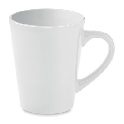 Picture of CERAMIC POTTERY COFFEE MUG 180ML in White