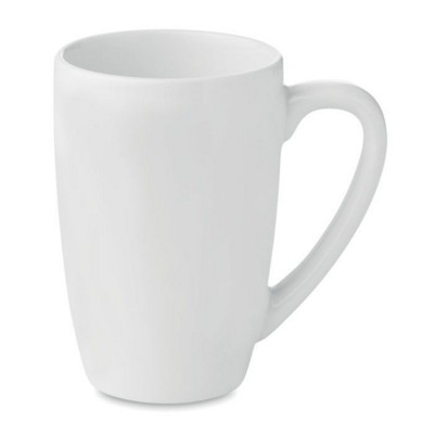 Picture of CERAMIC POTTERY TEA MUG 300ML in White