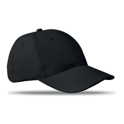 Picture of 6 PANEL STRUCTURED CAP in Black