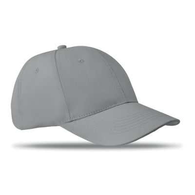 Picture of 6 PANEL STRUCTURED CAP in Grey