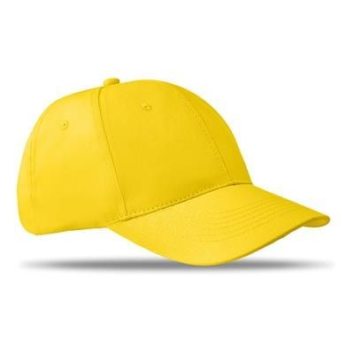 Picture of 6 PANEL STRUCTURED CAP in Yellow