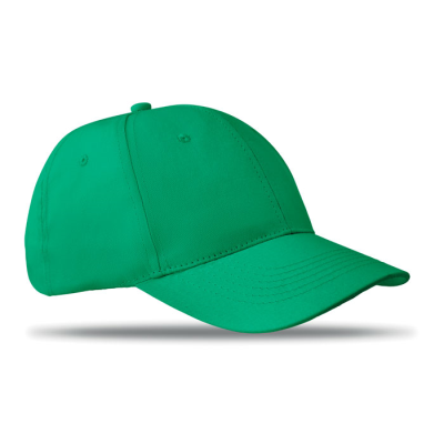 Picture of 6 PANEL STRUCTURED CAP in Green