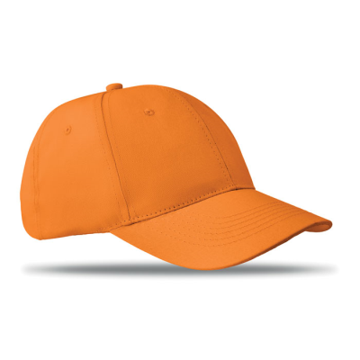 Picture of 6 PANEL STRUCTURED CAP in Orange