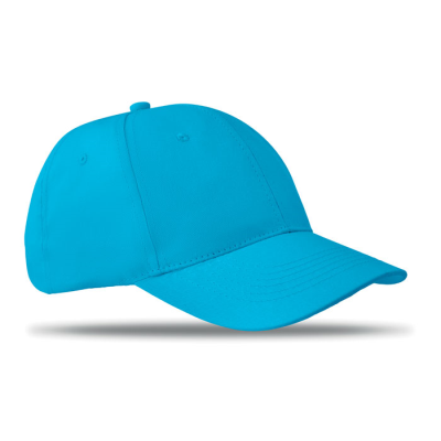 Picture of 6 PANEL STRUCTURED CAP in Turquoise