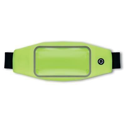 Picture of KIUNO ADJUSTABLE WATERPROOF WAIST BAG in Neon Fluorescent Green