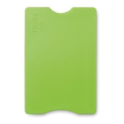 Picture of PROTECTOR RFID CREDIT CARD PROTECTOR in Lime