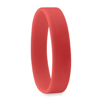 Picture of SILICON WRIST BAND in Red