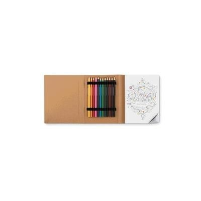 Picture of ADULT DRAWING COLOURING BOOK