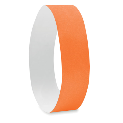 Picture of ONE SHEET OF 10 WRISTBANDS in Orange